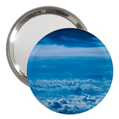 Cloudy Sky 3  Handbag Mirrors
