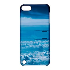 Cloudy Sky Apple Ipod Touch 5 Hardshell Case With Stand by TimelessDesigns