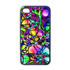 Color Network Apple Iphone 4 Case (black) by TimelessDesigns