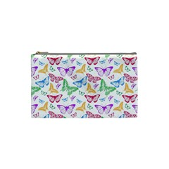 Colorfull Butterflies Cosmetic Bag (small)