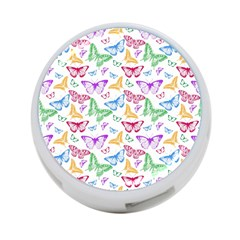 Colorfull Butterflies 4 Port Usb Hub (one Side)