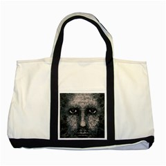 Foam Man Photo Manipulation Poster Two Tone Tote Bag
