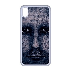 Foam Man Photo Manipulation Poster Apple Iphone Xr Seamless Case (white) by dflcprintsclothing