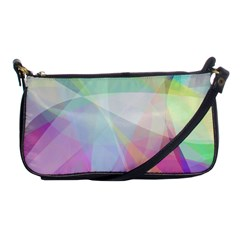 Colorfull Curves Shoulder Clutch Bag