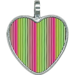 Colorfull Design Heart Necklace