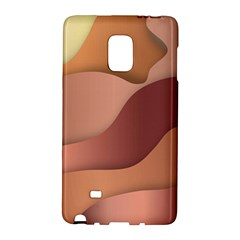 Colors Of Autumn Samsung Galaxy Note Edge Hardshell Case