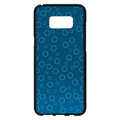 Cool Bubbles Samsung Galaxy S8 Plus Black Seamless Case by TimelessDesigns