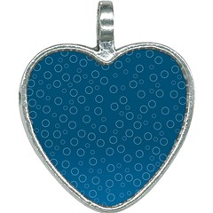 Cool Bubbles Heart Necklace by TimelessFashion