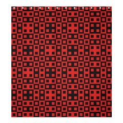 Crazy Blocks Shower Curtain 66  X 72  (large)