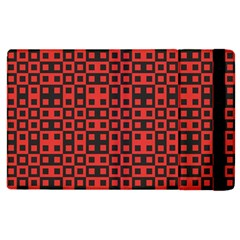 Crazy Blocks Apple Ipad 3/4 Flip Case