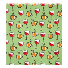Cups And Glasses Shower Curtain 66  X 72  (large)