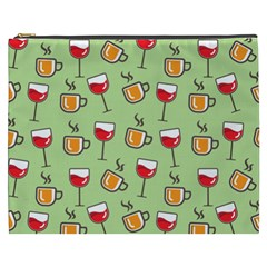 Cups And Glasses Cosmetic Bag (xxxl) by TimelessFashion