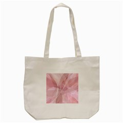 Curves In Pink Tote Bag (cream)