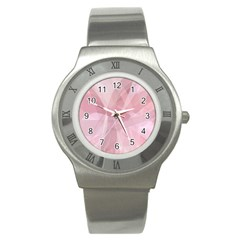 Curves In Pink Stainless Steel Watch by TimelessFashion