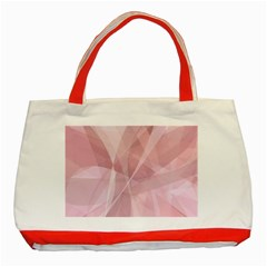 Curves In Pink Classic Tote Bag (red)