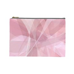 Curves In Pink Cosmetic Bag (large)