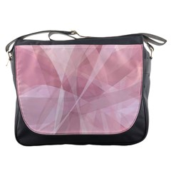 Curves In Pink Messenger Bag by FEMCreations