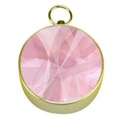 Curves In Pink Gold Compasses