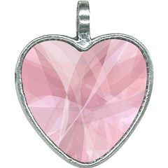 Curves In Pink Heart Necklace