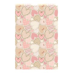 Cute Hearts Shower Curtain 48  X 72  (small)