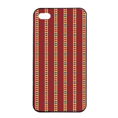 Cute Pattern  Apple Iphone 4/4s Seamless Case (black)