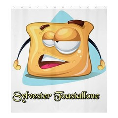Sylvester Toastallone Shower Curtain 66  X 72  (large) by allthingseveryone