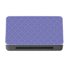 Damask In Blue Memory Card Reader With Cf by TimelessDesigns