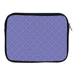 Damask In Blue Apple Ipad 2/3/4 Zipper Cases by TimelessDesigns