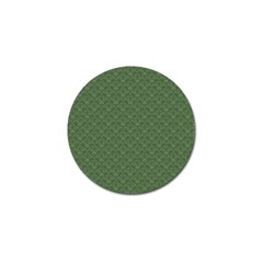Damask In Green Golf Ball Marker (4 Pack) by TimelessDesigns