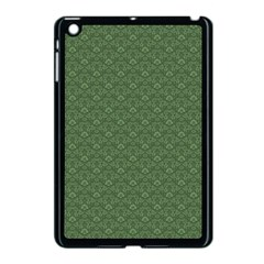 Damask In Green Apple Ipad Mini Case (black)