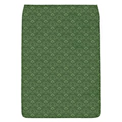 Damask In Green Removable Flap Cover (s)