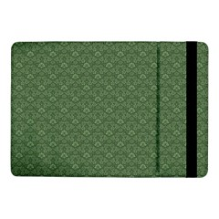 Damask In Green Samsung Galaxy Tab Pro 10 1  Flip Case