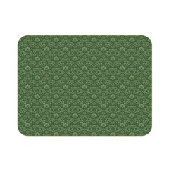 Damask In Green Double Sided Flano Blanket (mini)  by TimelessDesigns