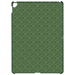 Damask In Green Apple Ipad Pro 12 9   Hardshell Case by TimelessDesigns