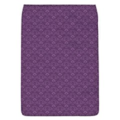 Damask In Purple Removable Flap Cover (l) by TimelessDesigns