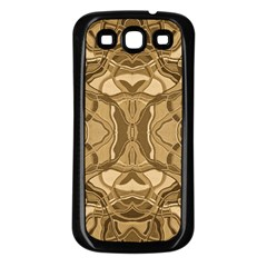 Abstract #8   Iii   Antique 6000 Samsung Galaxy S3 Back Case (black) by KesaliSkyeArt