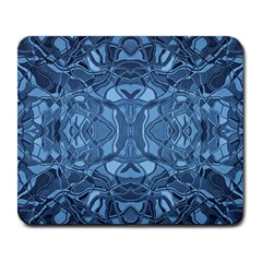 Abstract #8   Iii   Blue 6000 Large Mousepads