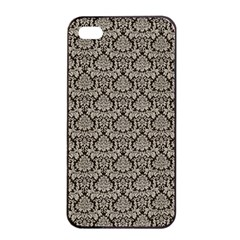 Dream In Damask  Apple Iphone 4/4s Seamless Case (black) by TimelessDesigns