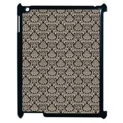 Dream In Damask  Apple Ipad 2 Case (black) by TimelessDesigns