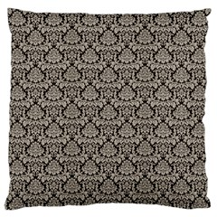 Dream In Damask  Large Cushion Case (two Sides) by TimelessDesigns