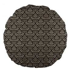 Dream In Damask  Large 18  Premium Flano Round Cushions