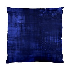 Fabric In Blue Standard Cushion Case (one Side)