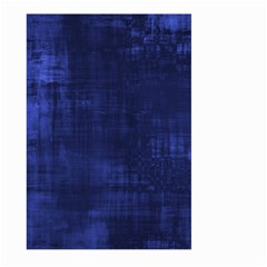 Fabric In Blue Large Garden Flag (two Sides) by TimelessDesigns