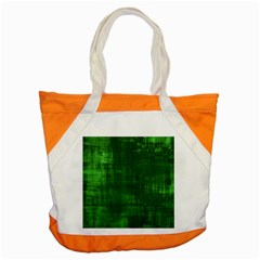 Fabric In Green Accent Tote Bag by TimelessFashion