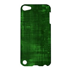 Fabric In Green Apple Ipod Touch 5 Hardshell Case by FEMCreations