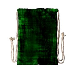 Fabric In Green Drawstring Bag (small)