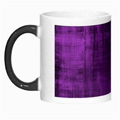 Fabric In Purple Morph Mugs