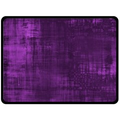 Fabric In Purple Fleece Blanket (large)