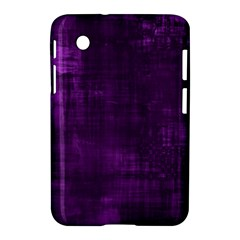 Fabric In Purple Samsung Galaxy Tab 2 (7 ) P3100 Hardshell Case  by TimelessDesigns