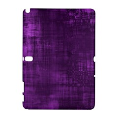 Fabric In Purple Samsung Galaxy Note 10 1 (p600) Hardshell Case